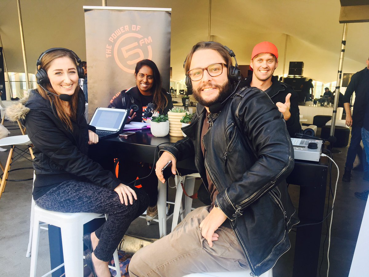 #FindYourMagic with @RogerGoodeShow and @AXE_SA! Some really exciting things happening!