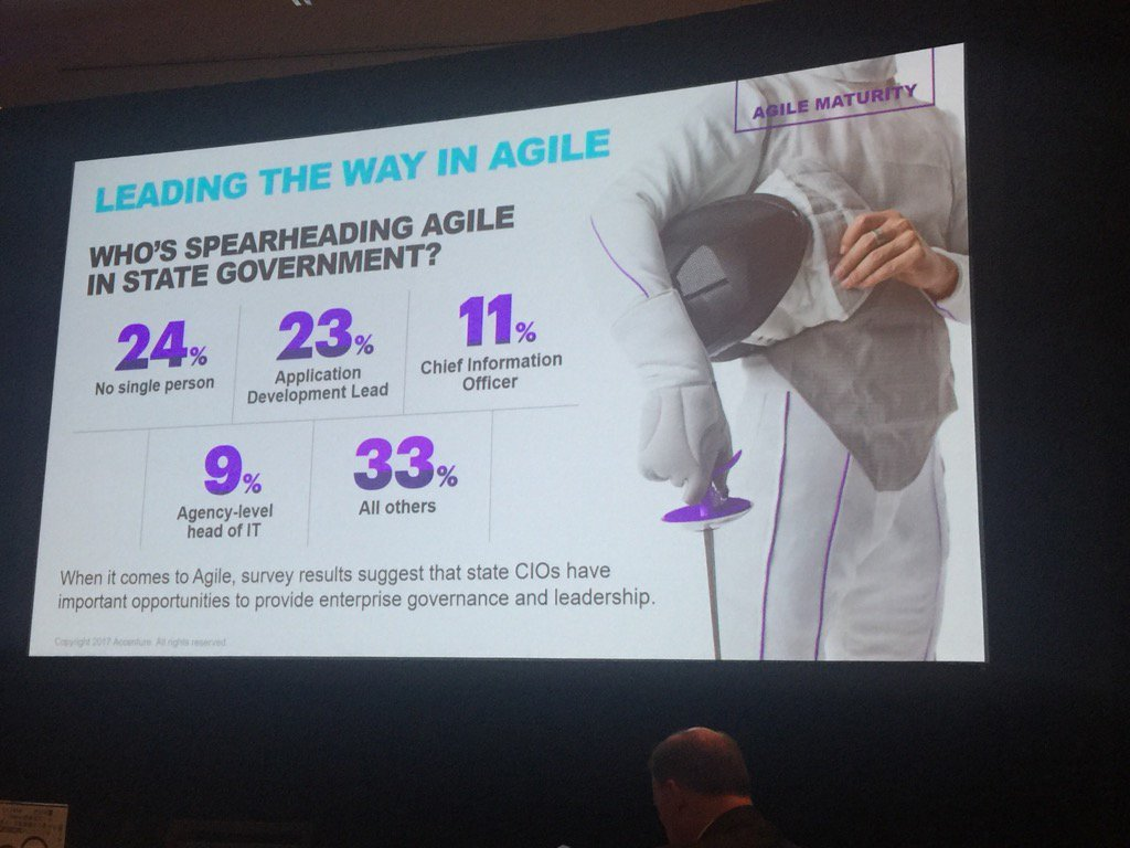 How is the spearhead for Agile? #NASCIO17 https://t.co/i7CufghRM5
