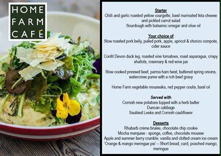 Home Farm Cafe Parke On Twitter This Weeks Evening Menu