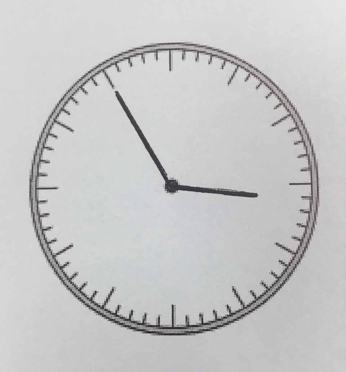 Mark Chubb On Twitter Heres A Clock With No Numbers Im Not Sure