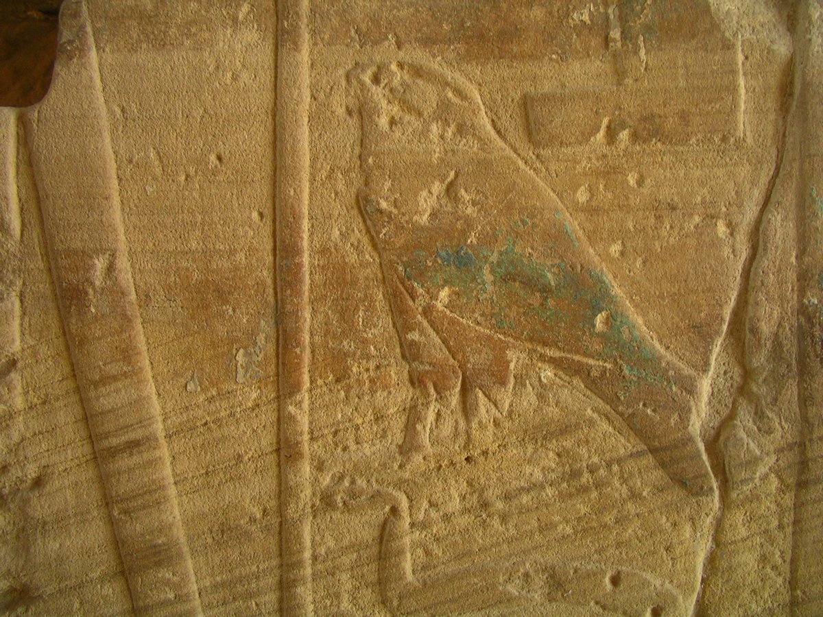 Cross bedding... with some hieroglyphics in the way. Somewhere in #Egypt. Can&#39;t remember where I took this shot. <br>http://pic.twitter.com/edQ7hOjgYo