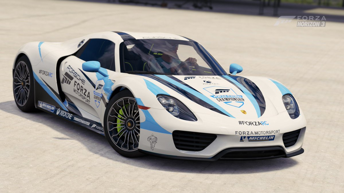 Zechariah On Twitter ForzaRC Porsche 918 Now Available In ForzaHorizon3 GT MID LAND ZETA ForzaMotorsport Xbox Simracing