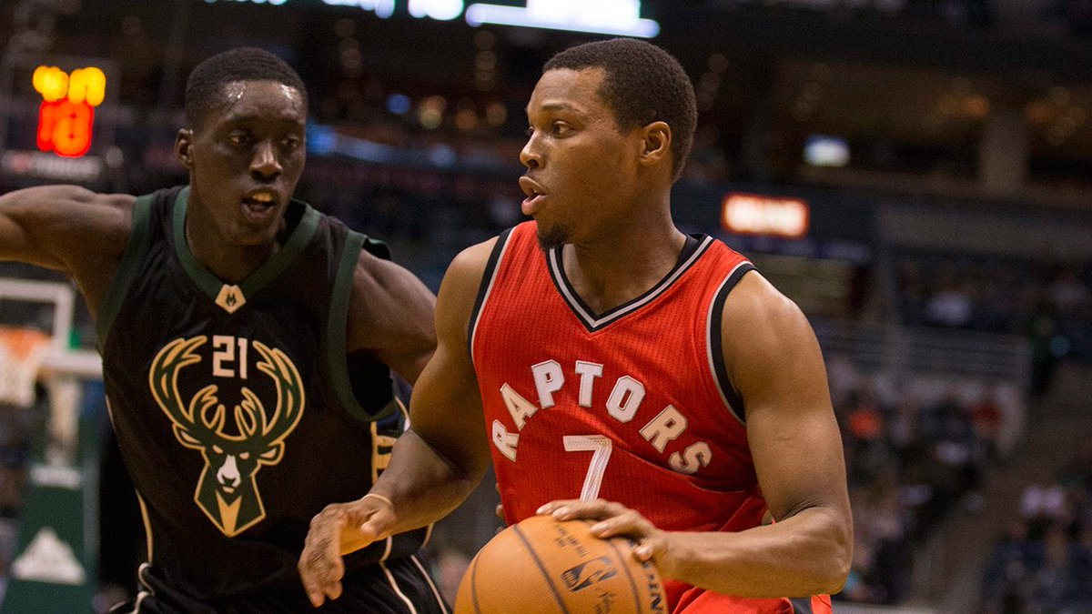 Raptors' Kyle Lowry missed shootaround due to back stiffness.  https:/...