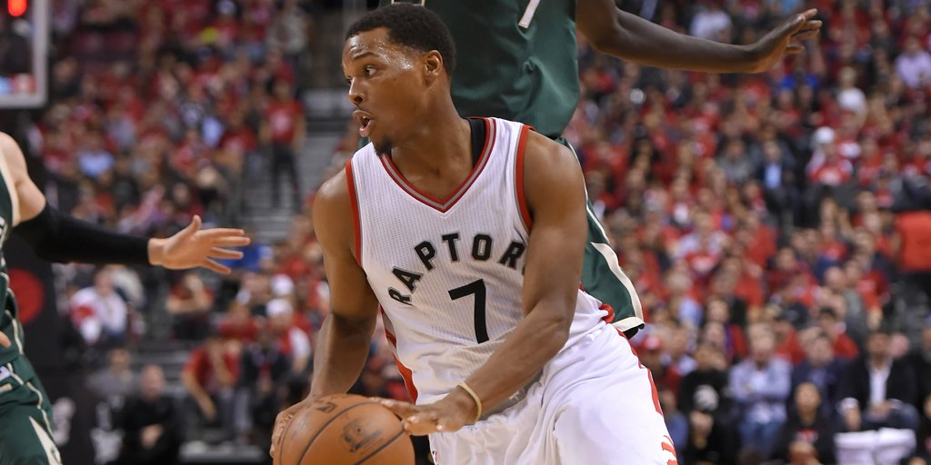 Kyle Lowry dealing with back stiffness, expects to play in Game 5. htt...