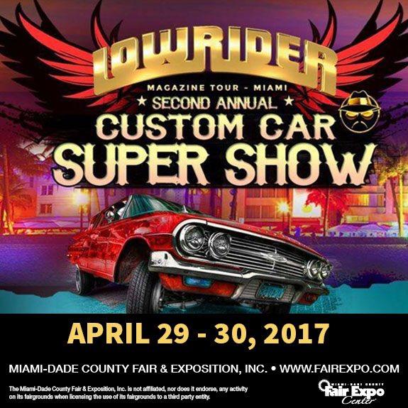 MiamiDade FairExpo On Twitter The MiamiLowrider Car Show Is - Dade city fl car show