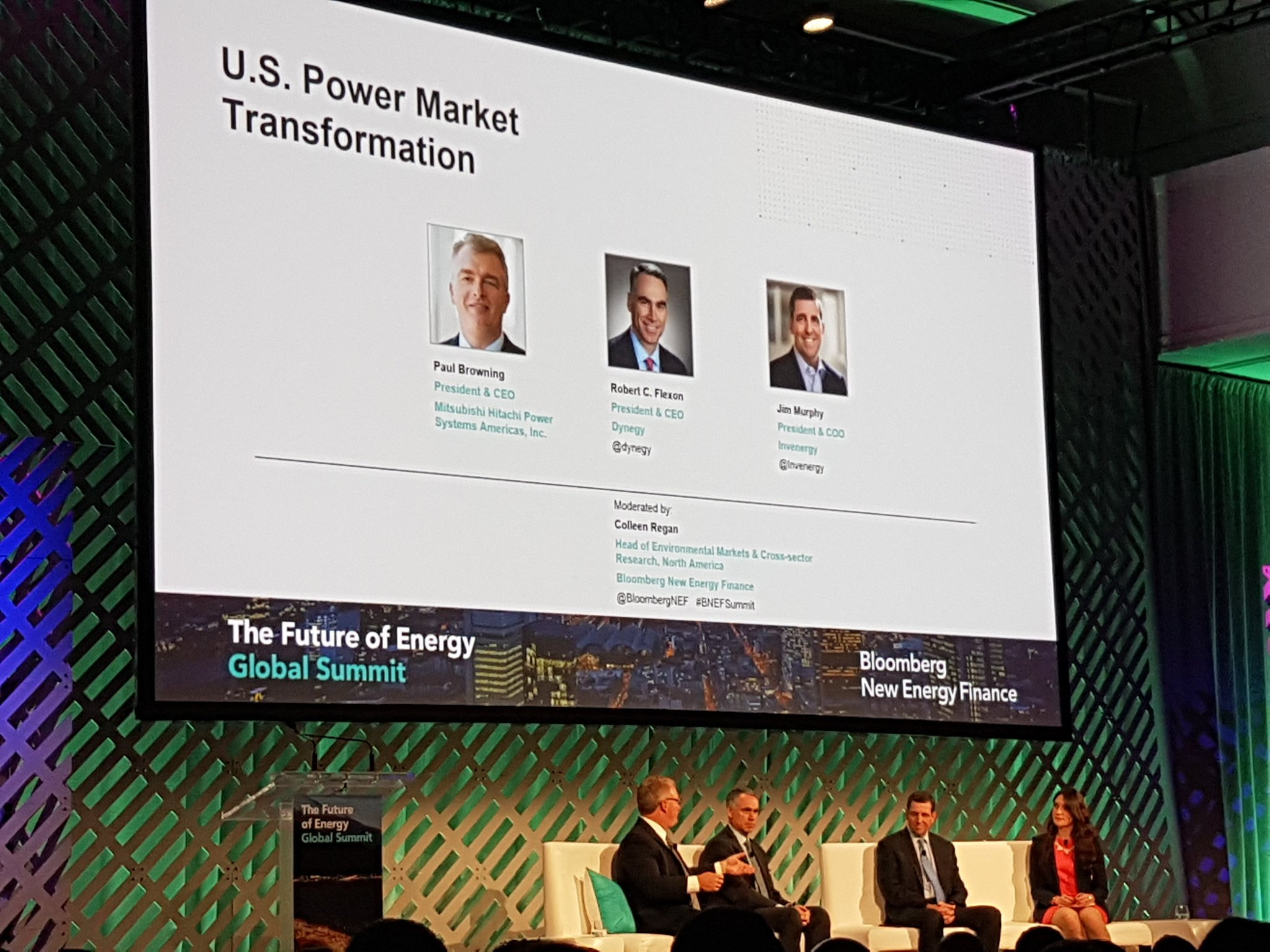 """BloombergNEF on Twitter """"IPPs embrace new tech more than others"""