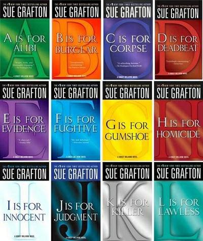 in 1940 Sue Grafton was born.  Happy Birthday Sue.