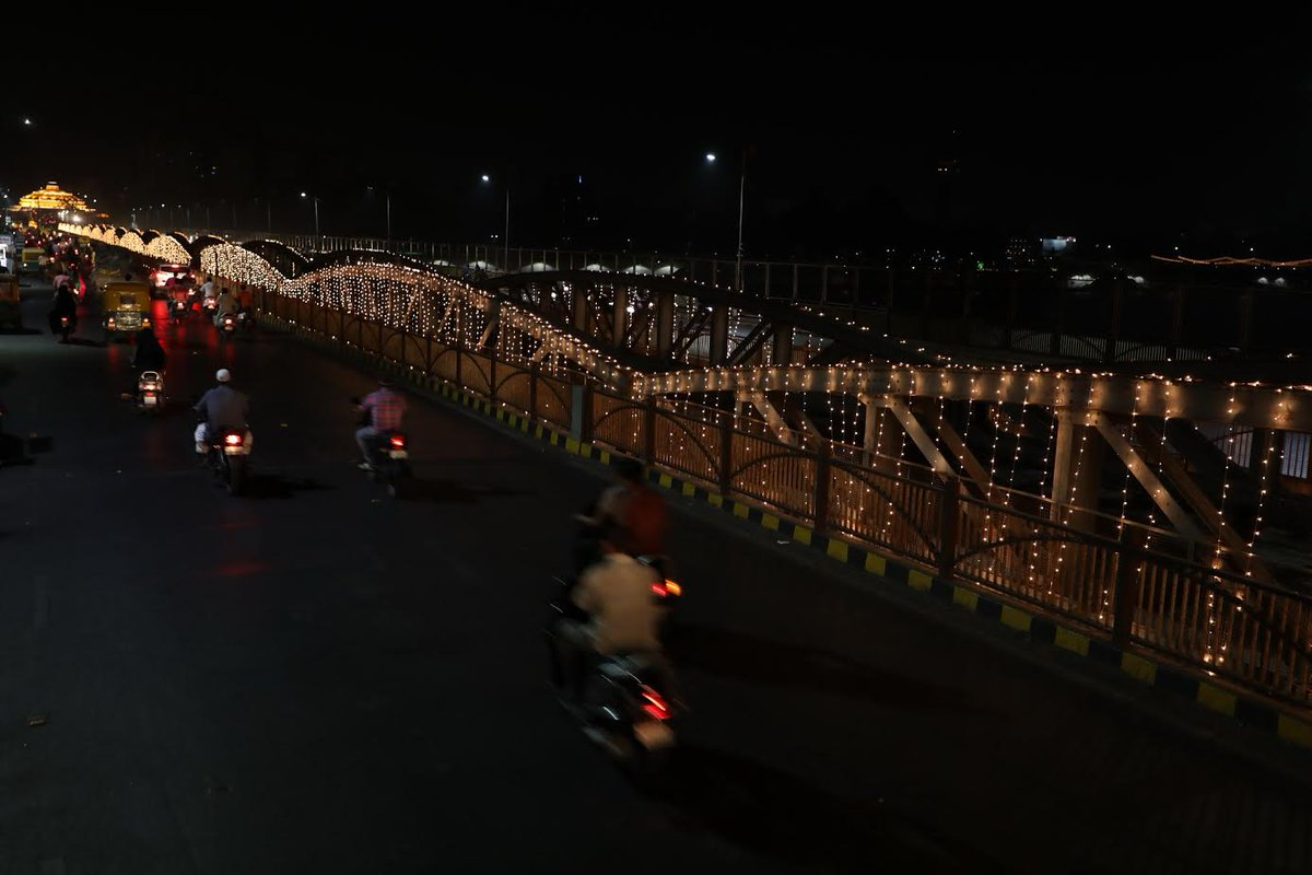 In photos: Ahmedabad dresses lighting decoration ahead of 1st May Gujarat Day