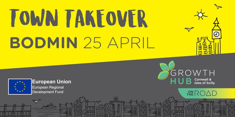 Debbie Horner will be talking about recruitment at the @CIoSGrowthHub #TownTakeover in Bodmin tomorrow morning:  http:// ow.ly/ni1z30b7IHq  &nbsp;  <br>http://pic.twitter.com/MPmfH56DAq