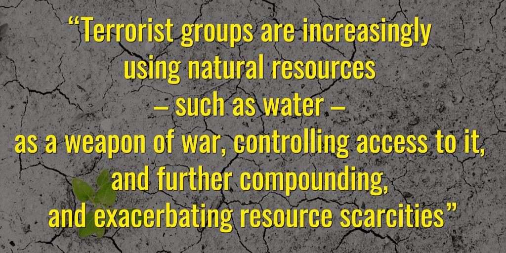 #ClimateChange will fuel #terrorism recruitment  http:// bit.ly/2p04EAd  &nbsp;  <br>http://pic.twitter.com/5T4aHUHRey