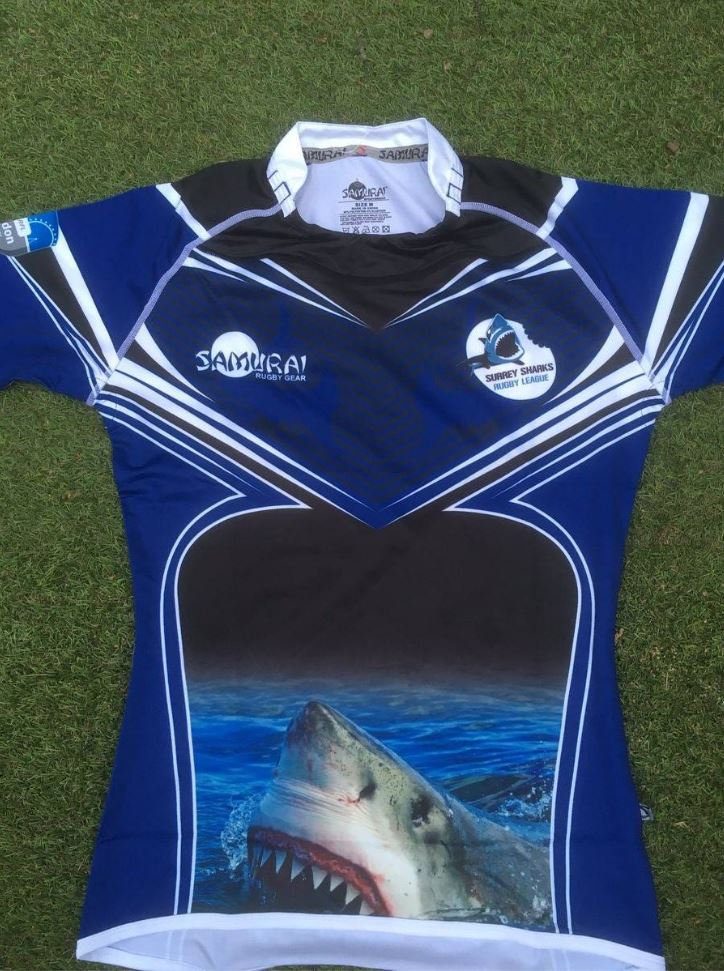 test Twitter Media - Your ideas, our expertise, your kit. We are loving this design for @SurreysharksRL! Design your own kit here >> https://t.co/ErPdGXMGu1 https://t.co/ZcyWlWV5Pg