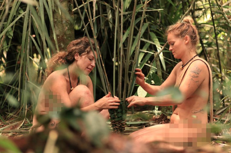 Naked and afraid without censure-4753