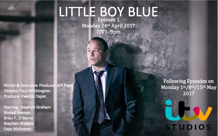 Please tune in tonight, 9pm on @ITV  #Littleboyblue ⚽️ So unbelievably proud to be part of this 💙