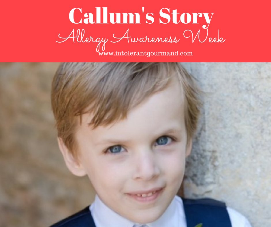 It&#39;s #AllergyAwarenessWeek &amp; we&#39;ve created a video of Callum&#39;s Story! We&#39;d love to hear your thoughts!   https://www. facebook.com/TheIntolerantG ourmand/videos/1418414731567326/ &nbsp; …  #allergies <br>http://pic.twitter.com/Ifdy59psFX