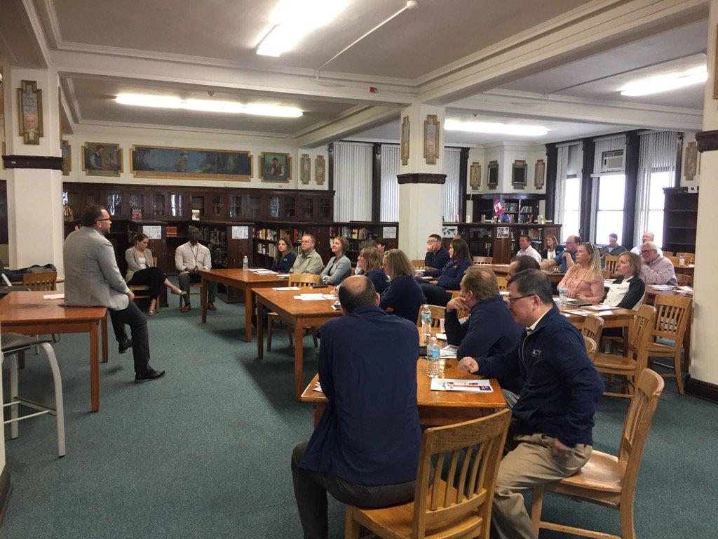ACT Leadership Cohort visits Chicago's South Side Tilden Academy today. #ACTprofdev, #ACTEquity, #ACTCares https://t.co/Iwk6XFlzP2