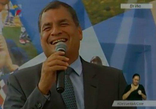 En el nuevo Ecuador no hay lugar para la desesperanza, no hay lugar pa...