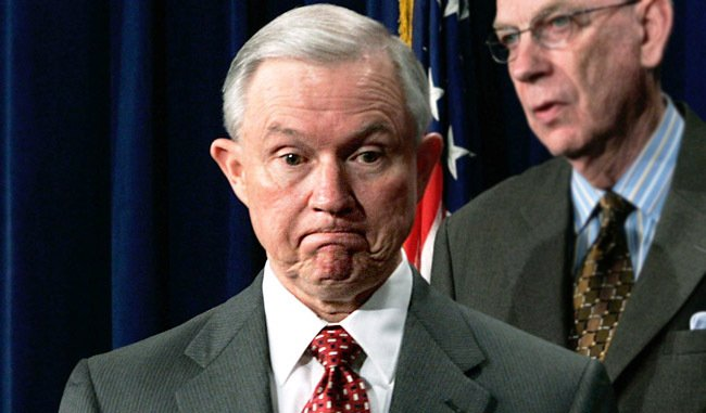 Jeff Sessions is being slammed for his 'soft on crime' comments about...