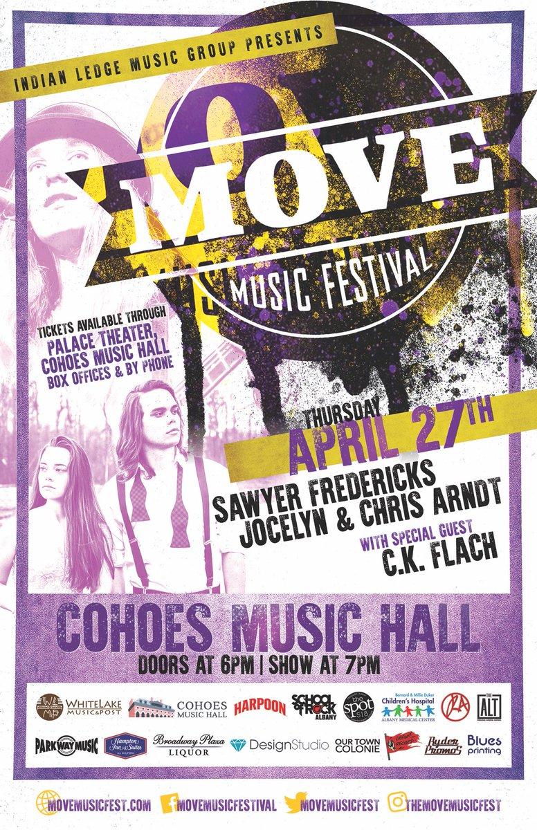 This Thursday! @movemusicfest @jocelynandchris @SawyerFrdrx #music #festival <br>http://pic.twitter.com/Cx8bA8Yf4Q