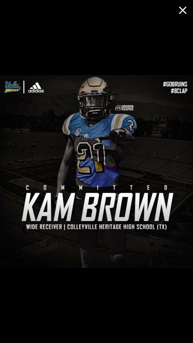 Committed to the University of California Los Angeles 🐻 #8Clap #4sUp h...