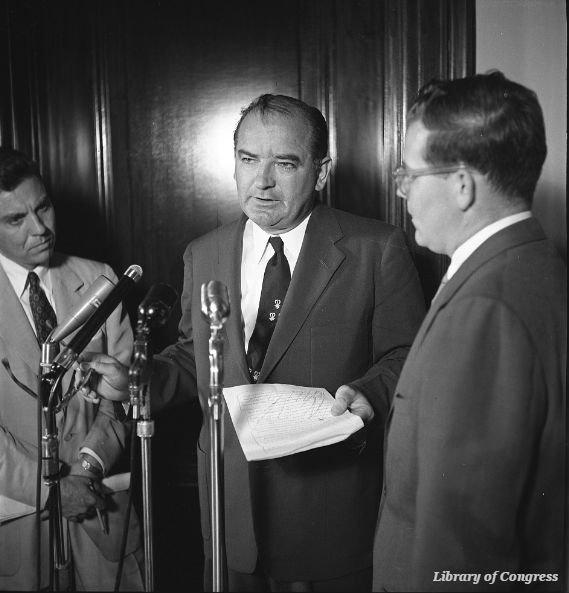 Senator Joseph McCarthy of Wisconsin died #OTD in 1957 https://t.co/zQxNsEL3T0 https://t.co/YKm2eT5EEB