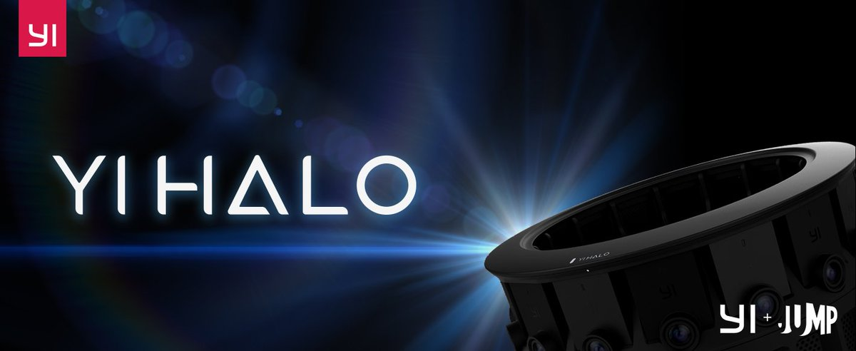 Introducing YI Halo, the next generation @googlevr Jump camera! Are you prepared for the future?