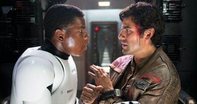 #StarWars hasn't ruled out letting Finn and Poe be in a relationship h...