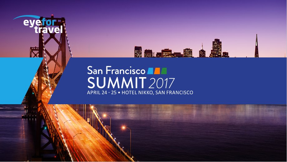 Follow #eftusa for LIVE updates from EyeforTravel San Francisco summit where we discuss the future of digital in #travel https://t.co/xjEs0wxzK3