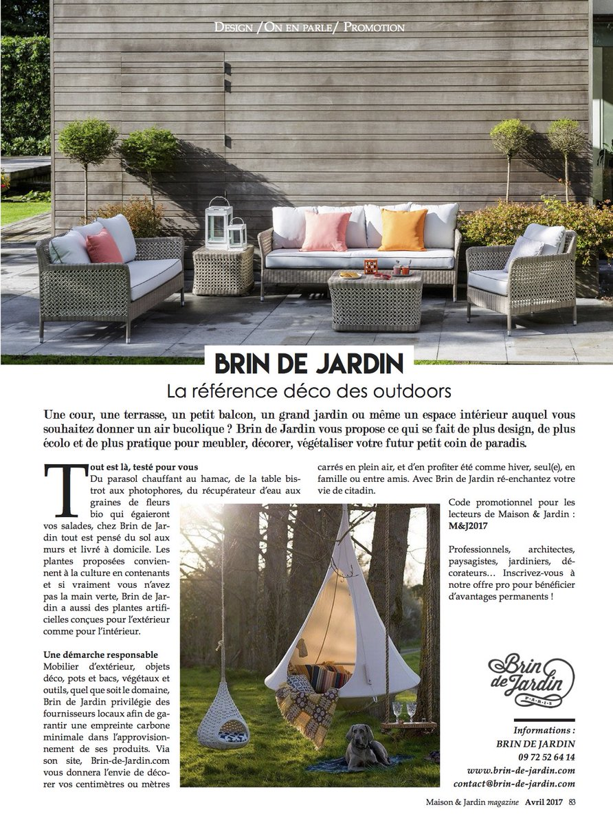 Magazine maison et jardin great bricothmes with magazine for Maison et jardin magazine