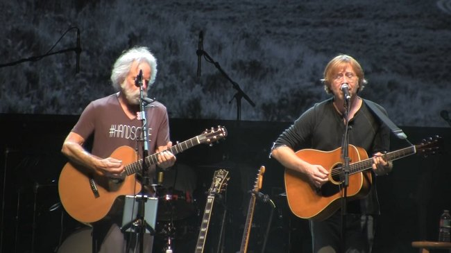 Watch @Phish and @GratefulDead members cover @LadyGaga's 'Million Reas...