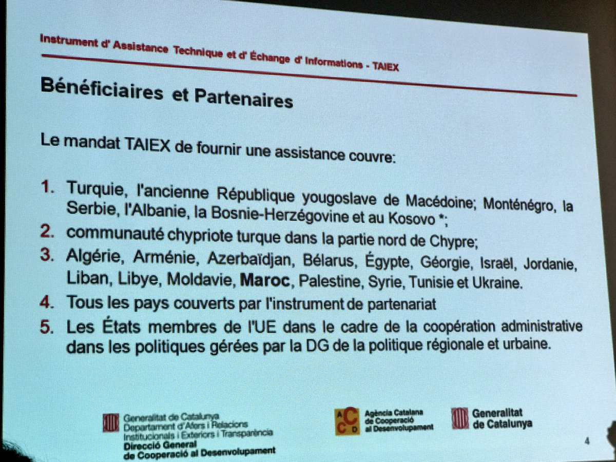 For the moment 2 #regionalgov #Morocco benefit from #TAIEX #UE : #Tanger -Tetouan-Al Hoceim @ChamalMagrib and #DrâaTafilalet #ORURabat2017<br>http://pic.twitter.com/PBlBOHQy4Z