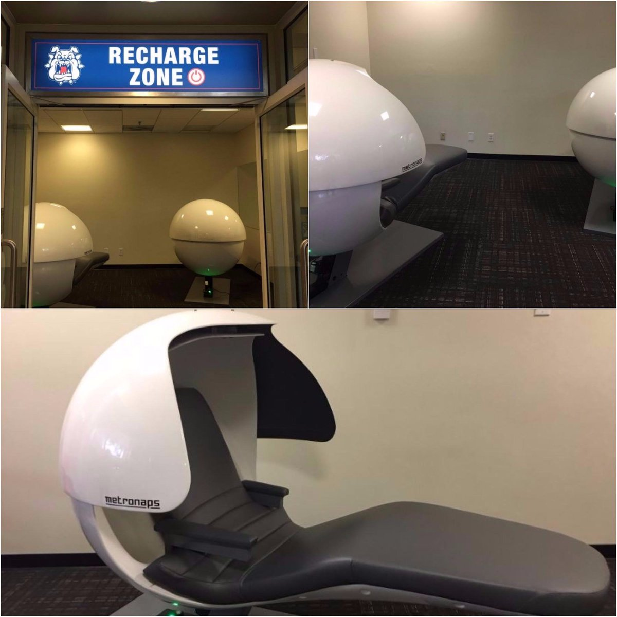 fresno state on twitter have you tried the new nap pods in the usu