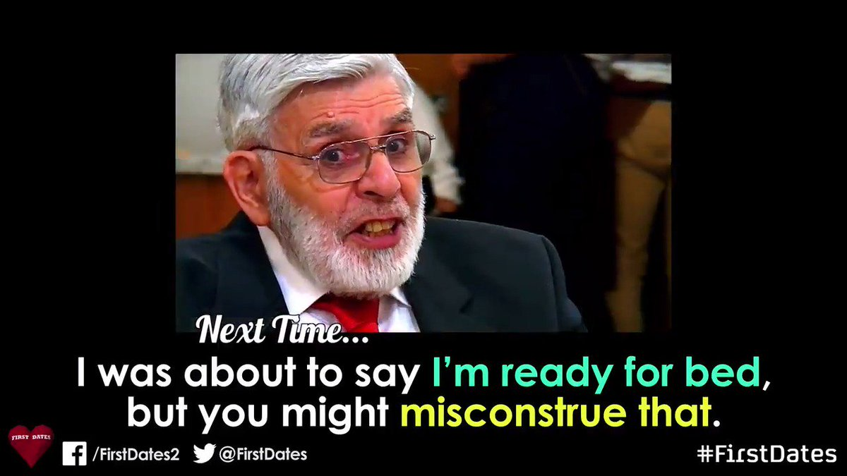 We're BACK in less than 24 hours…. #FirstDates ⁰⏰❤️🕰❤️⏱ https://t.co/U...