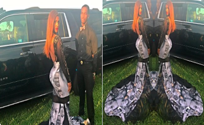 This high school student used her prom dress to make a statement about...