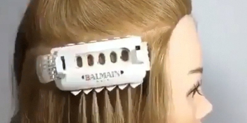 Marie Claire On Twitter This Balmain Hair Extension Machine Is The
