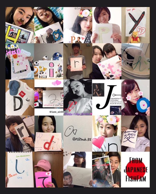 Japan loves you!!!     HAPPY BIRTHDAY