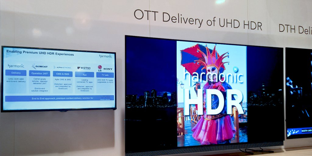 We provide #CMS &amp; #SMS environments integrated by @Globecast for the new UHD-HDR #OTT platform for @VIVELifestyleTV, encoded by @HarmonicInc<br>http://pic.twitter.com/ixZw15vTu5