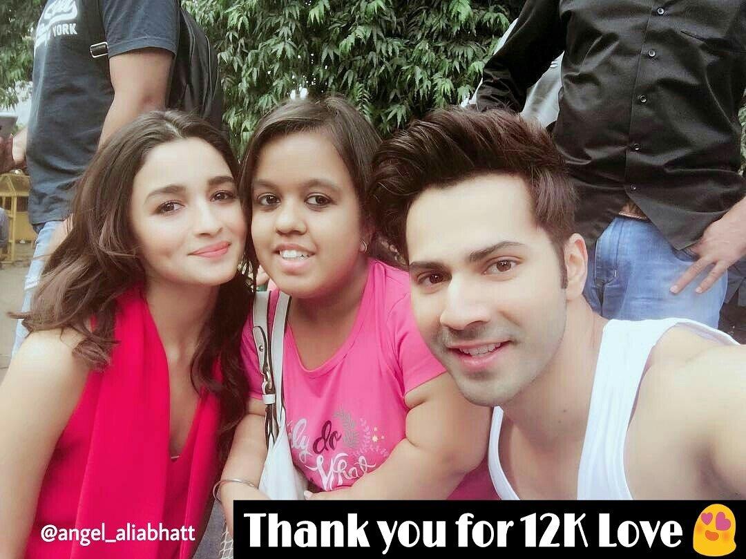 12K completed on Instagram  @aliaa08 @Varun_dvn  #AliaBhatt #angel_aliabhatt #VarunDhawan #cutenessOVERLOAD #instagram #Bollywood #FolloMe<br>http://pic.twitter.com/C8zqx77X07