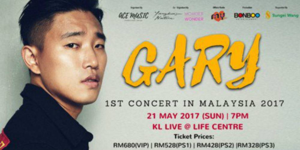 Gary cancels his first concert in Malaysia