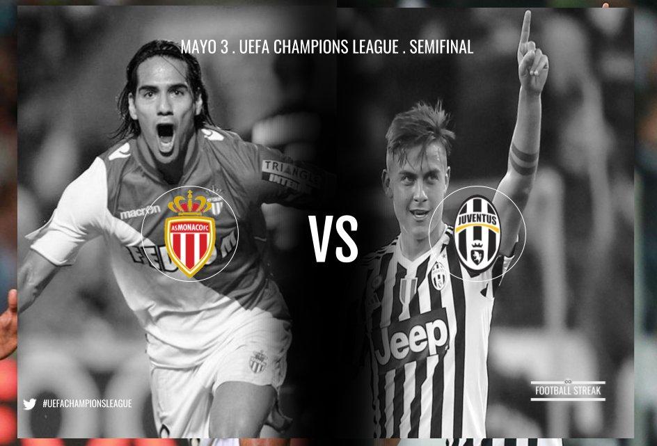 Dove Vedere MONACO JUVENTUS Streaming Diretta Canale 5 VIDEO Online Gratis Andata Semifinale Champions League