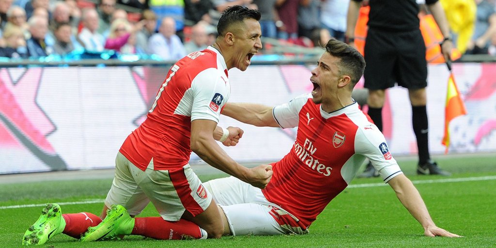 .@Alexis_Sanchez extra-time goal sealed @Arsenal a 2-1 win over @ManCity and fired the Gunners into their 20th #EmiratesFACup final #ARSMCI <br>http://pic.twitter.com/xUd9srkR01