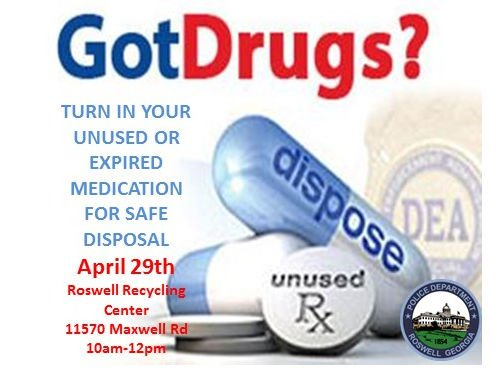 Roswell Recycling Center >> Roswell Police On Twitter Got Drugs Come By The Roswell