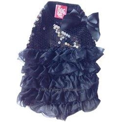 SOME LIKE IT HOT DRESS- BLACK! Grab it:   #dogs #dogdress #puppy #dogsoftwitter @PoshPuppy