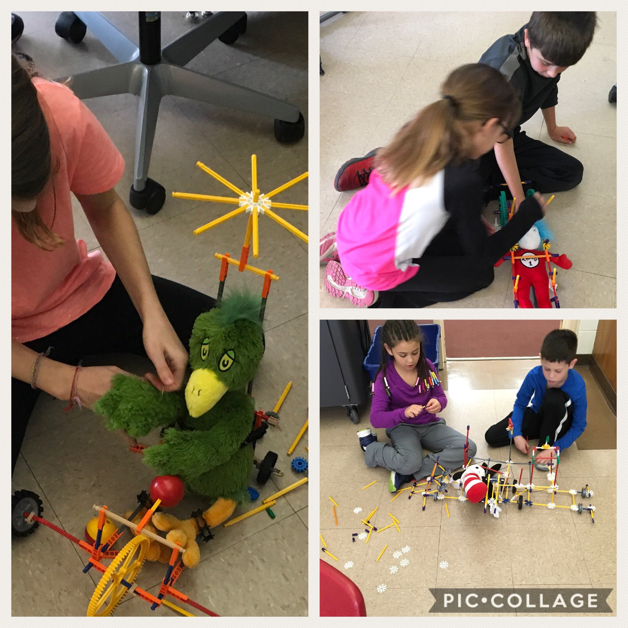 @pbahnick 's 3rd graders created Seuss-mobiles with K'Nex in our @109SouthPark Smart Lab! #engage109 #SP109 https://t.co/B0kZn0JOQs