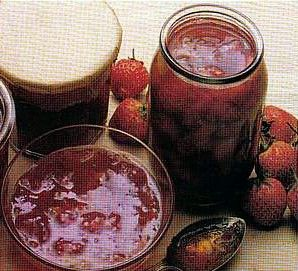 strawberry jam,homemade recipe