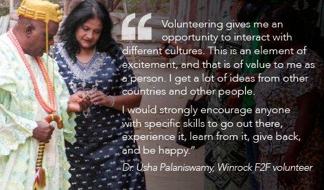 #volunteer #NVW #NationalVolunteerWeek #WinrockVolunteer @WinrockIntl https://t.co/h8Th1f0QOq