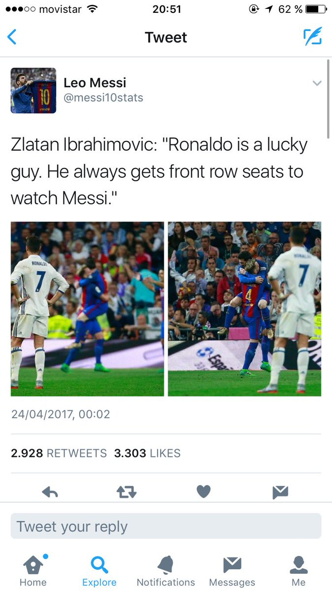 #Zlatan speaks the truth. #Messi <br>http://pic.twitter.com/nkyZd1pqUy