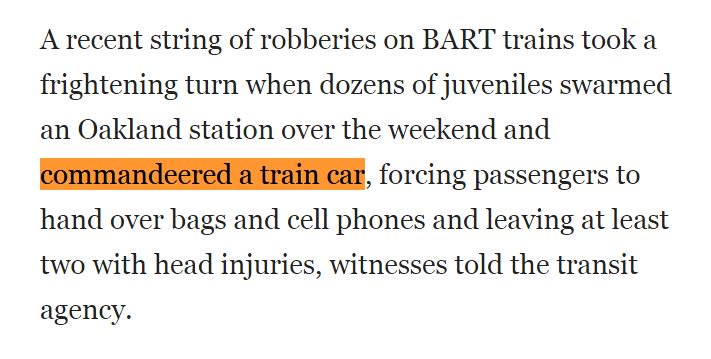 Crazy: an Old West-style train robbery https://t.co/QUTgn92rZa