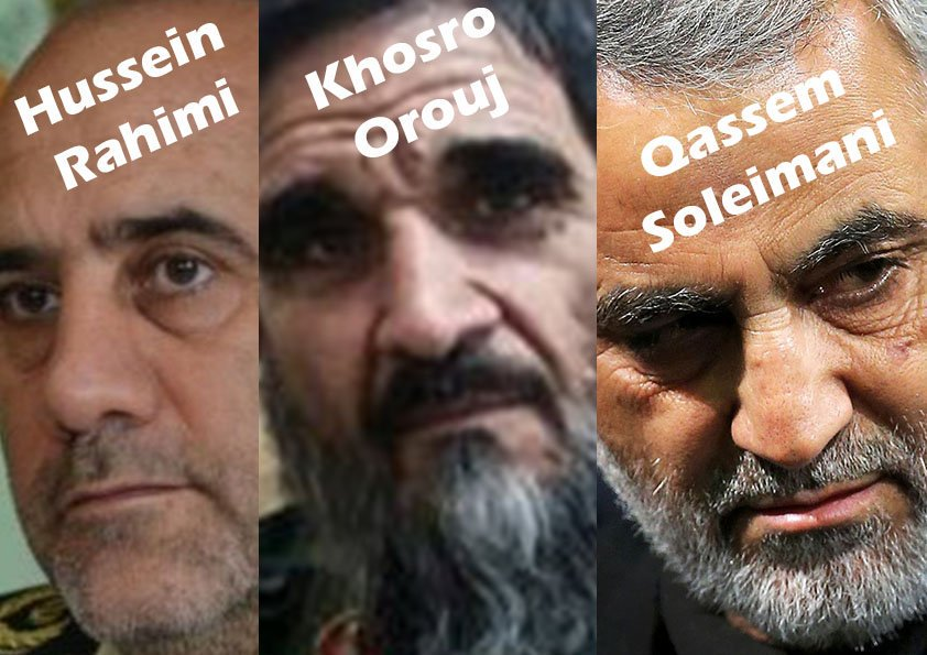 THEY ARE GODFATHER OF #ISIS AND #terrorism  #BlacklistIRGC #IRGC<br>http://pic.twitter.com/ui7TCBochS
