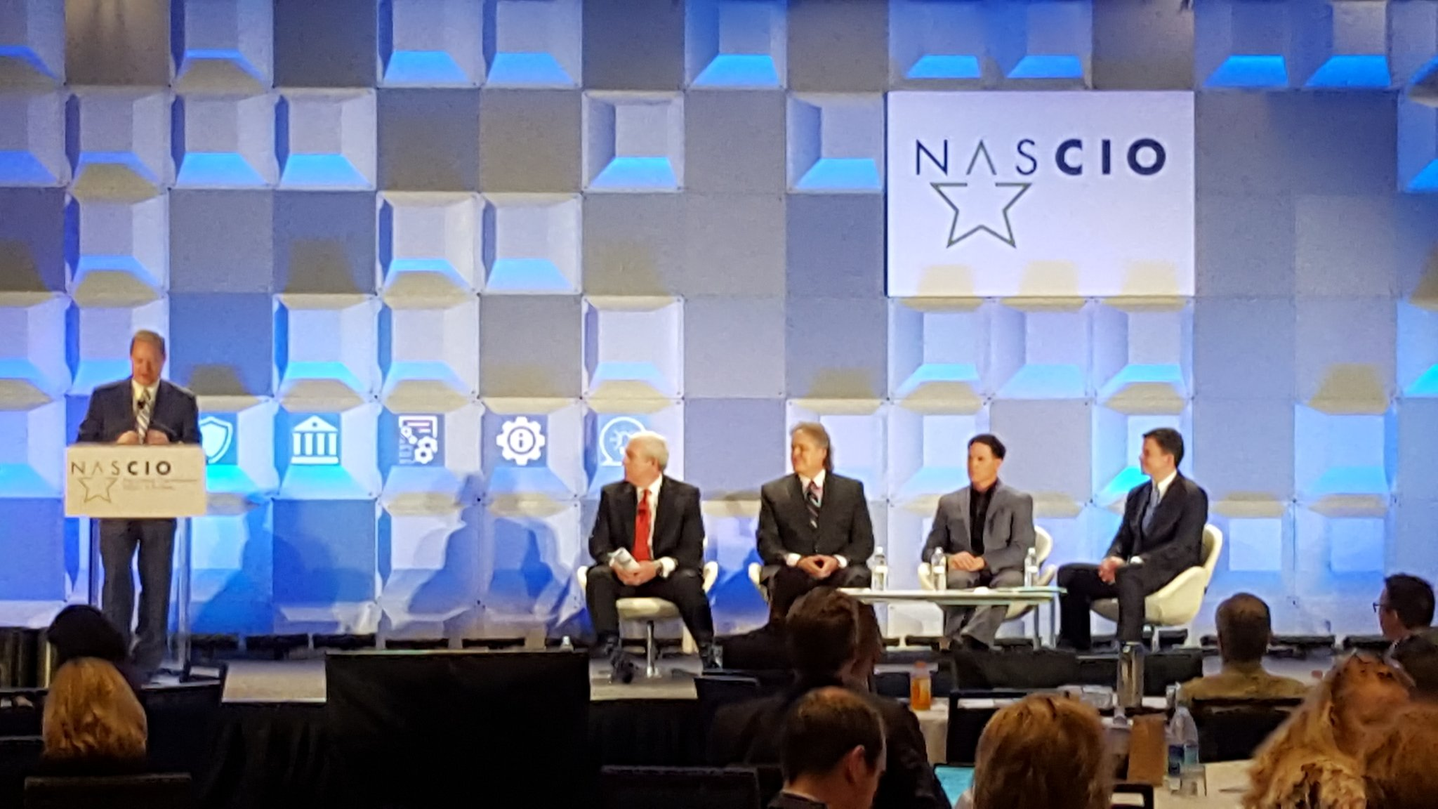 How Agile is State Government? @KeirBuckhurst discusses initial survey findings @Accenturepubsvc  #NASCIO17 https://t.co/WVarJz5UvF