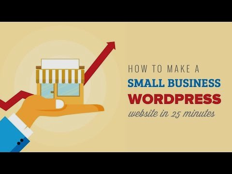 #Video Tutorial: How To Make a #SmallBusiness #WordPress #Website in Just 25 Minutes! Learn More  https:// goo.gl/1gTeKY  &nbsp;  <br>http://pic.twitter.com/hnEk97Q6sH